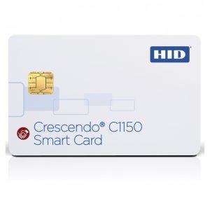 Smart Card HID Crescendo C1150 with iCLASS + MIFARE Classic + Prox 125Khz-0