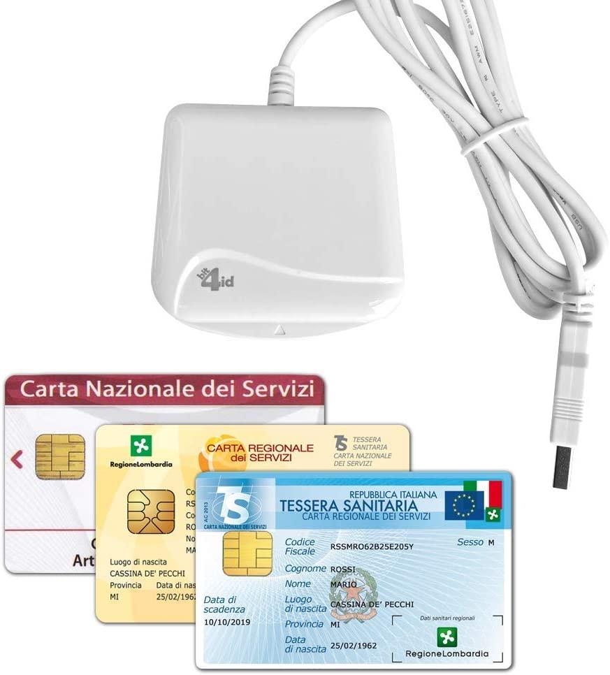Bit4id Lettore Di Smart Card Minilector Evo Usb 2 0 Per Crs Firma Digitale E Altre Cards Internavigare Shop